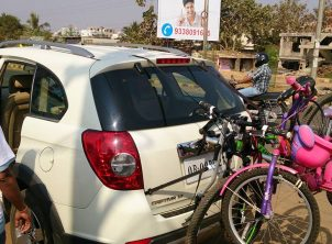 Chevrolet Captiva Car Bicycle Carrier