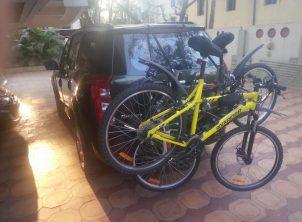Mahindra XUV500 1 Car Bicycle Carrier