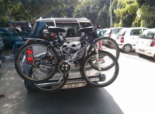 Mahindra XUV500 2 BikerZ Car Bike Rack