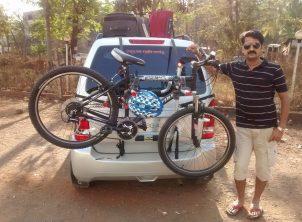 Maruti-WagaonR-Bike-Rack