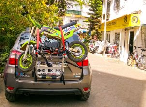 Nissan-Terrano-Bicycle-Carrier
