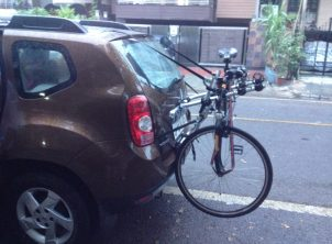 Renault Duster 1 Car Bicycle Carrier