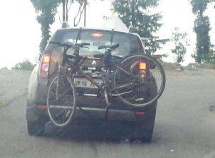 Renault Duster 2 BikerZ Car Bike Rack