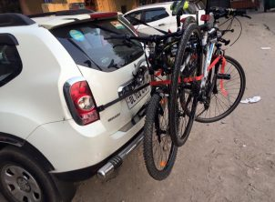 Renault Duster 3 Car Bicycle Carrier