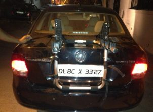 VolksWagon Vento 1 Car Bicycle Carrier