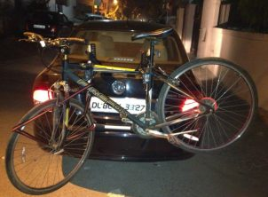 VolksWagon Vento 3 Cycle Carrier